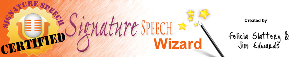 Signature Speech Wizard